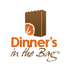 Dinner's in the Bag Logo Design