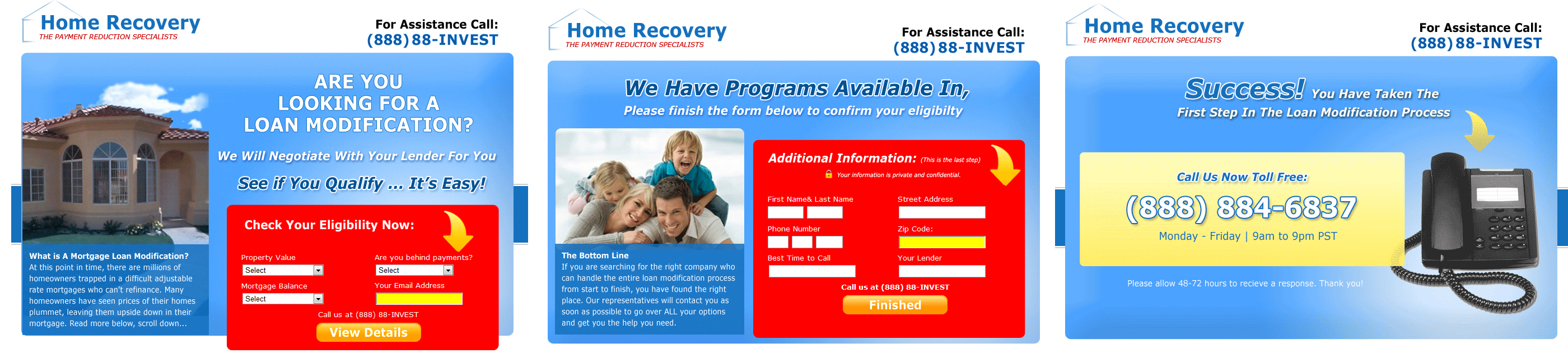 home recovery steps